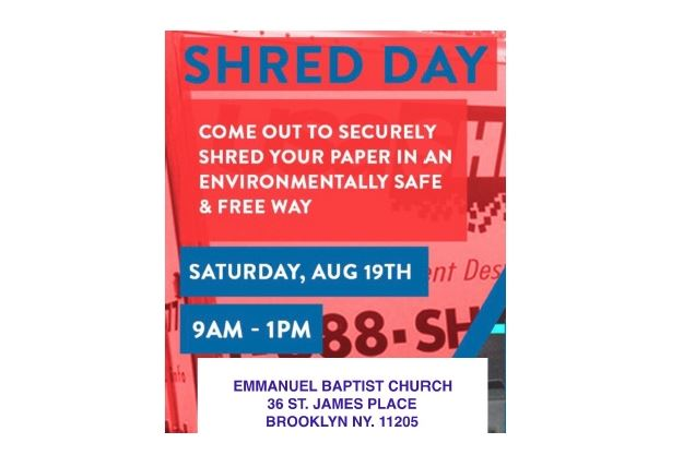 Community Announcements- Shred Day, Civic Engagement And Youth Hackathon